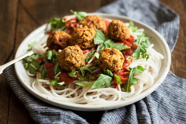 Savory Mediterranean Chickpea Oat Balls | The Full Helping