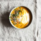 Hot or Cold Thai Carrot Coconut Lemongrass Soup | The Full Helping