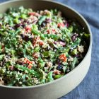 Protein-Packed Black and Kidney Bean Quinoa Salad | The Full Helping