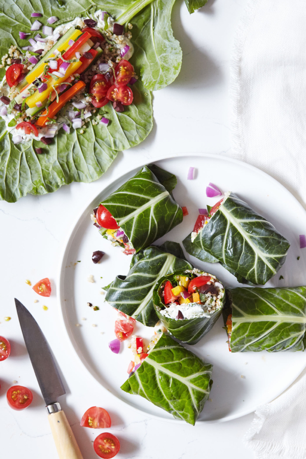 Greek+Collard+Green+Wraps+with+Vegan+Tzatziki+-+Natural+Girl+Modern+World+-+1