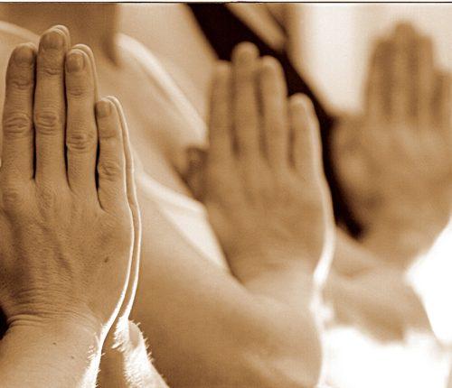 Namaste Hands