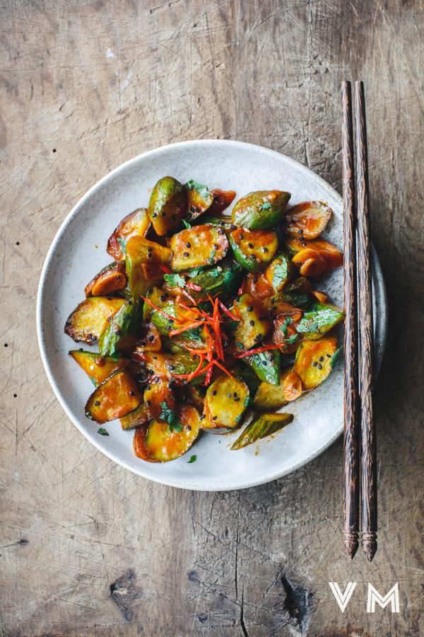Vegan-Sauteed-Chili-Cucumbers-2