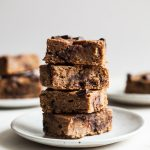 Vegan, Gluten Free Banana Bread Blondies