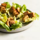 Spicy Peanut Tempeh Lettuce Wraps | The Full Helping