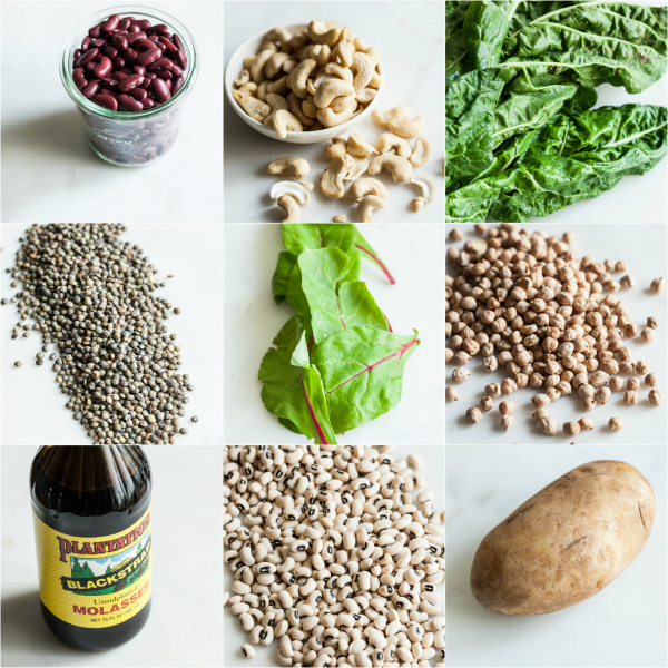 15 iron rich vegan food combinations the full helping forumfinder Image collections
