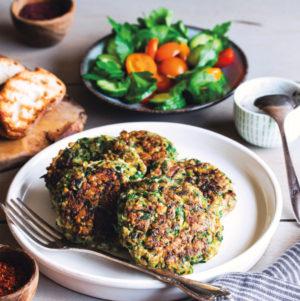 Maya Sozer's Vegan Zucchini Fritters