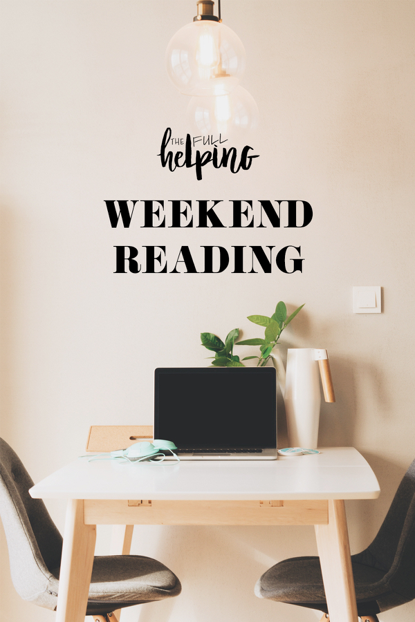Weekend Reading, 9.3.17