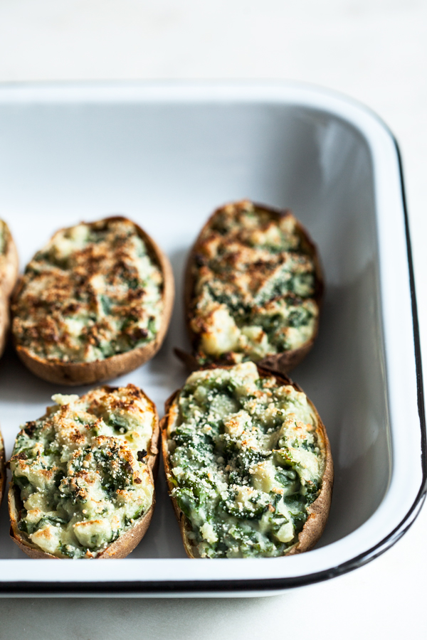 Fully Loaded Garlic Kale Potatoes   The Full Helping