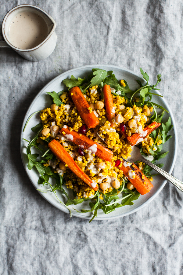 Moroccan Millet & Roasted Carrot Pilaf   The Full Helping