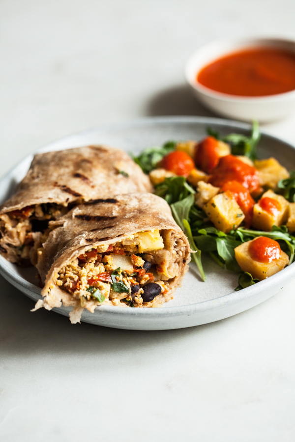 Veestro Breakfast Burrito | The Full Helping