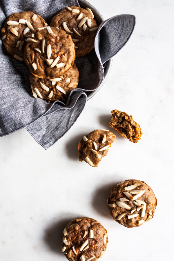 Chai Spiced Carrot Almond Muffins   The Full Helping
