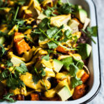 Vegan Butternut Black Bean Nachos
