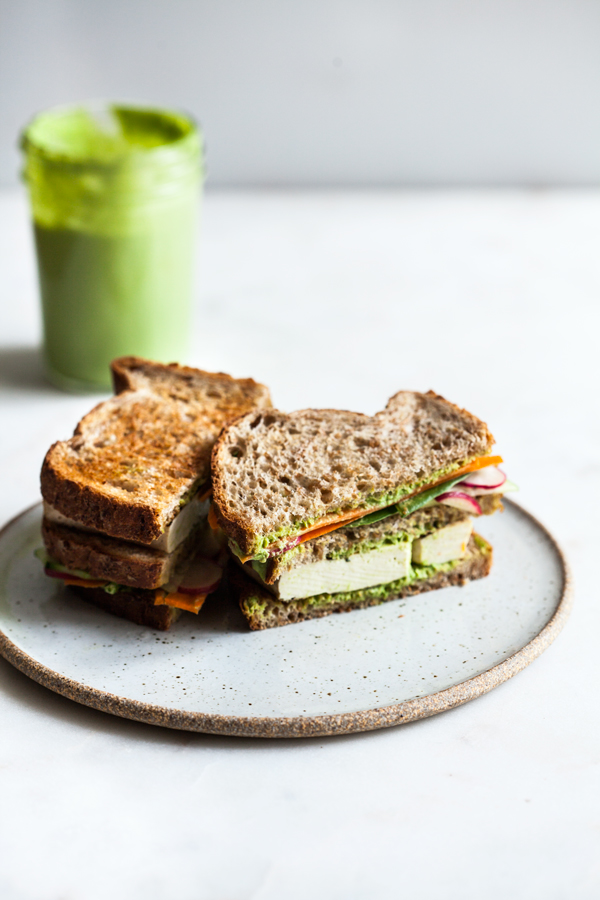 Green Goddess Club Sandwich | The Full Helping