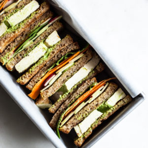 Green Goddess Club Sandwich