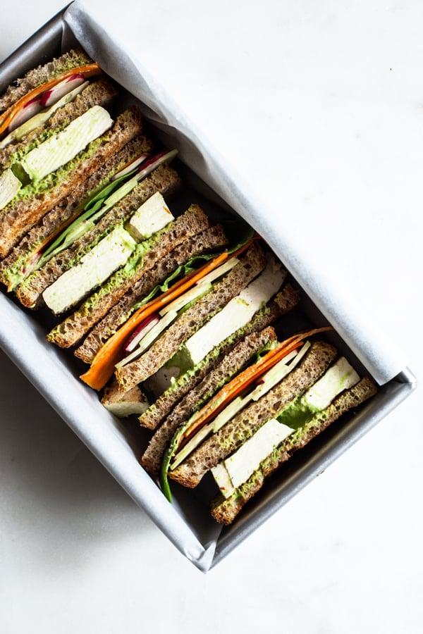 Green Goddess Club Sandwich | The Full Helping