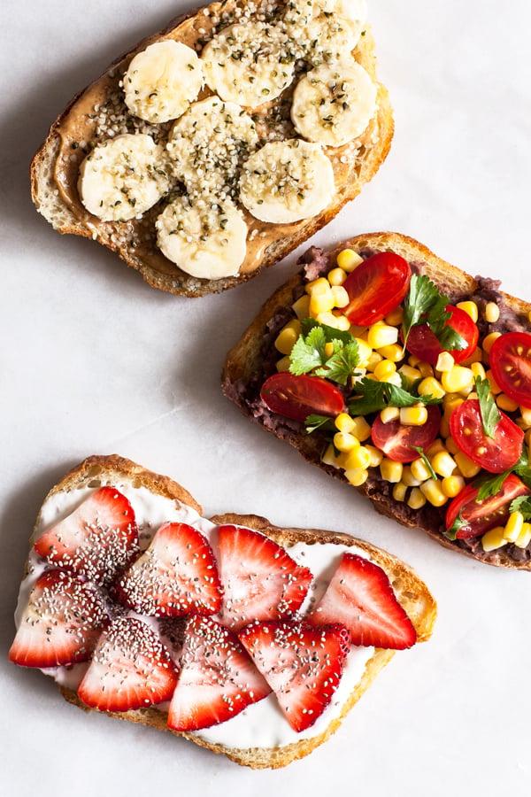 Six Tasty Vegan Toast Ideas   The Full Helping