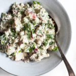 Red Potato Salad with Creamy Cashew Dijon Dressing & Dill
