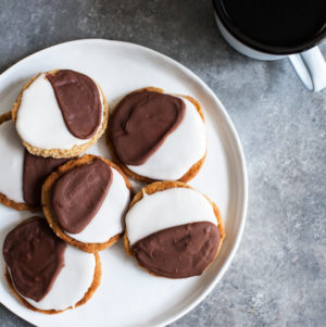 NYC Vegan's Black and White Cookies | The Full Helping