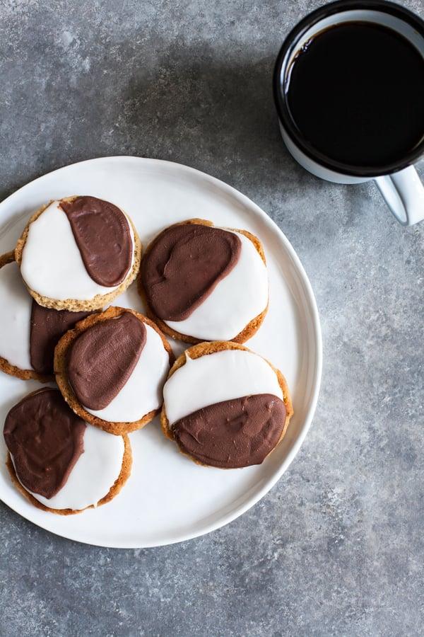NYC Vegan's Black and White Cookies