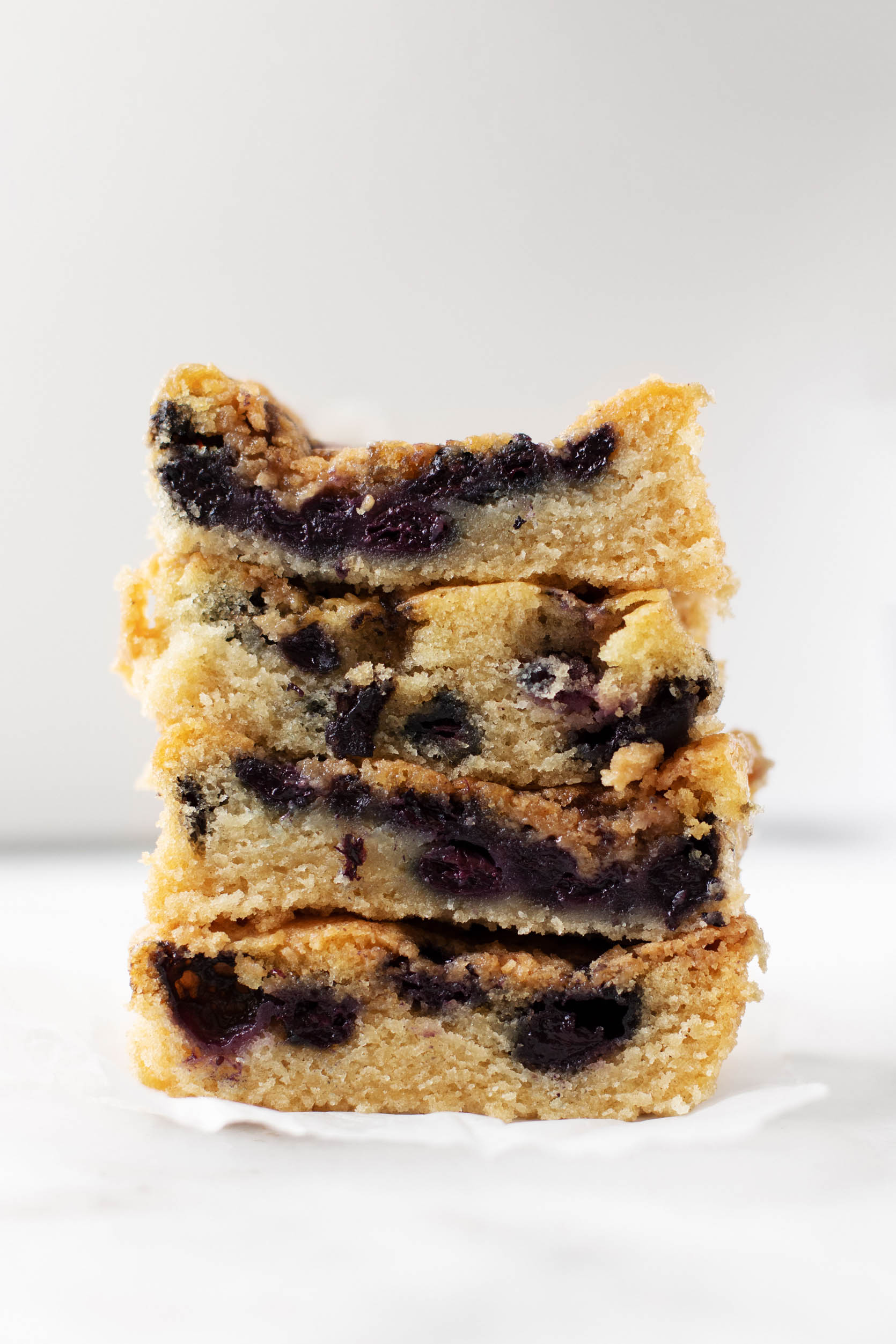 Blueberry Buckle Close Up | The Full Helping