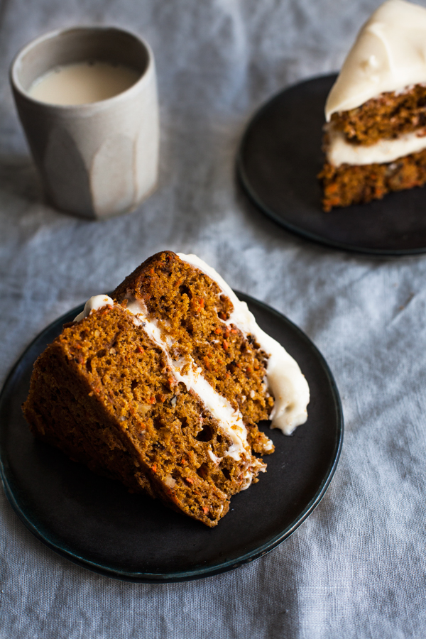 Vegan Pumpkin Carrot Cake