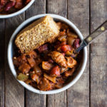 Hearty Vegan Chick'n & Bean Chili