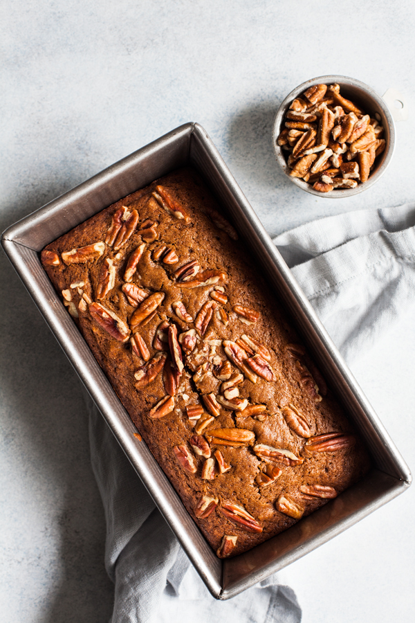 Spiced Citrus Pecan Breakfast Bread