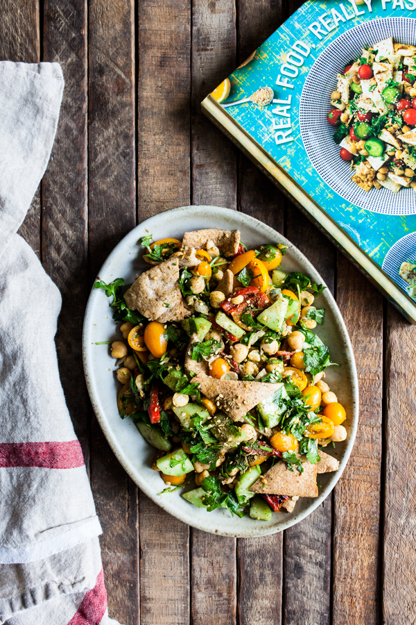 Falafel Fattoush Salad | The Full Helping