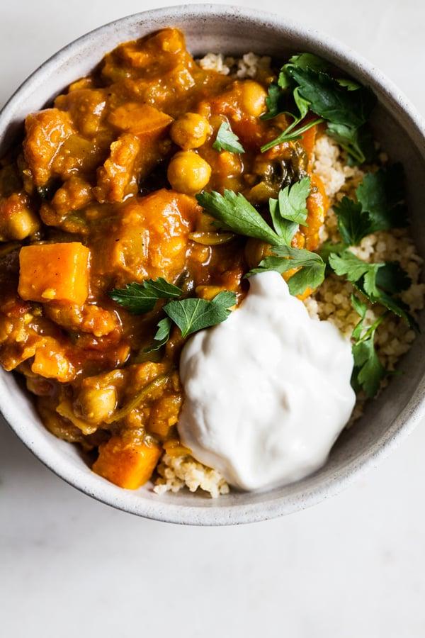 Moroccan Sweet Potato Stew | The Full Helping