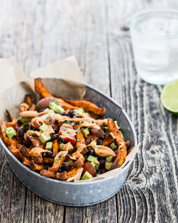 Sweet Potato Nacho Fries from Power Plates