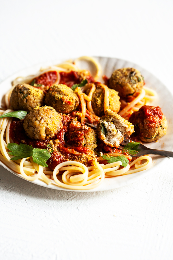 Tofu Bulgur Vegan Meatballs | The Full Helping