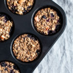 Apple Berry Baked Oatmeal Cups