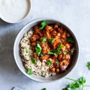Simple Slow Cooker Chana Masala