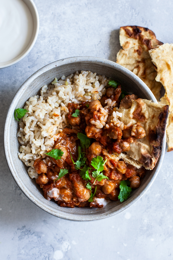 Simple Slow Cooker Chana Masala   The Full Helping