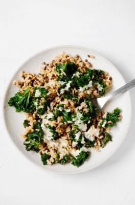 Cumin-Spiced Lentils & Rice