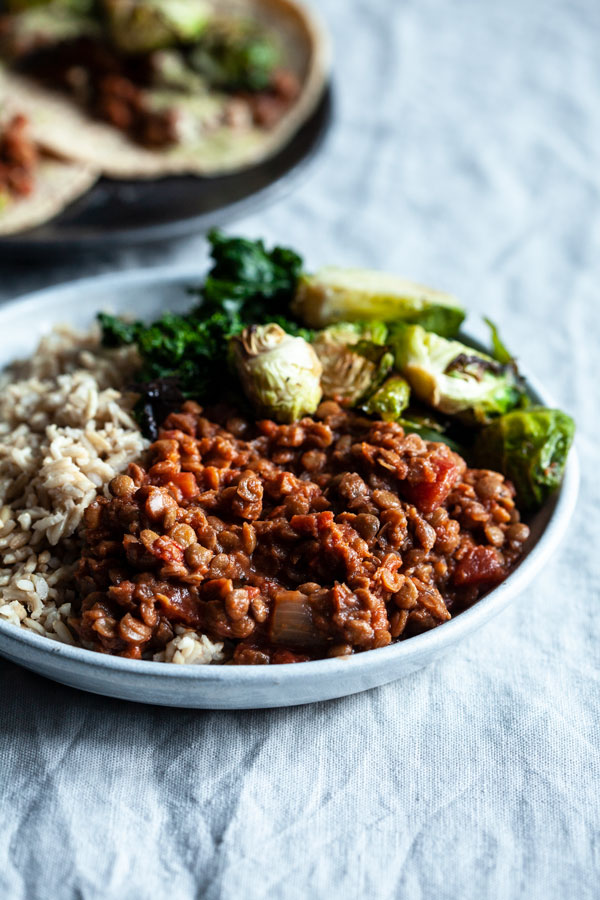 Slow Cooker Chipotle Lentils