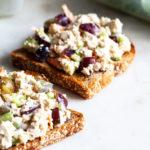 Meal Prep Friendly Tofu Tahini Lunch Salad