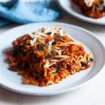Wholesome Vegan Lentil, Mushroom & Kale Lasagna