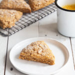 Wholesome Vegan Pumpkin Oat Scones