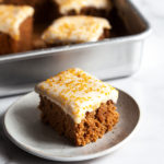 Cinnamon Spice Sheet Cake with Cream Cheese Frosting
