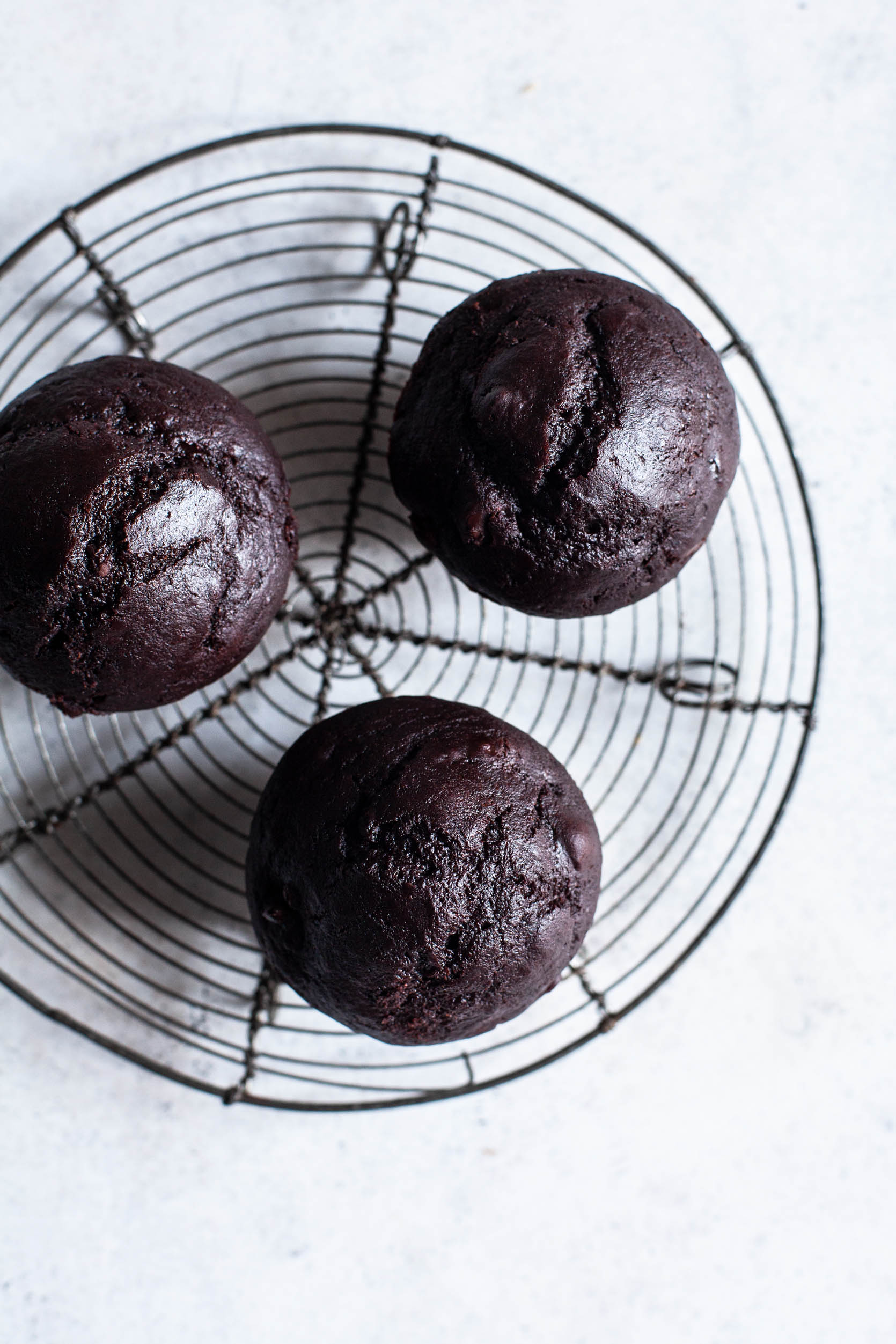 Vegan Double Chocolate Muffins | The Full Helping