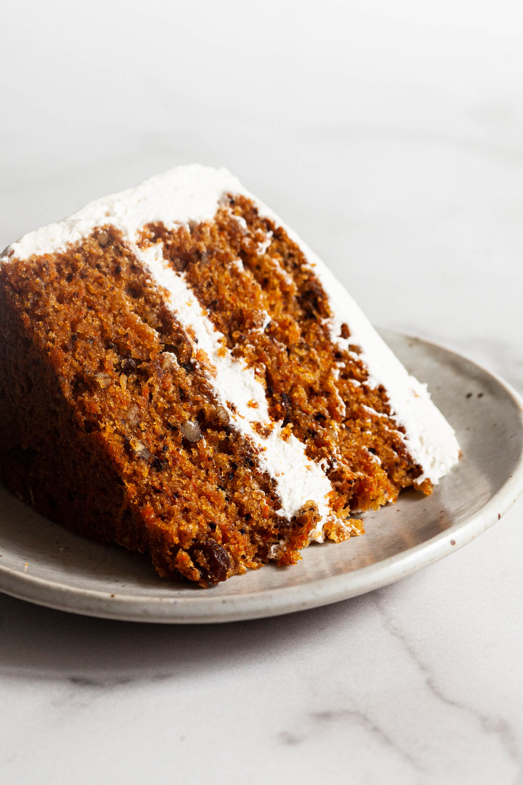 My Favorite Vegan Carrot Cake with Cream Cheese Frosting