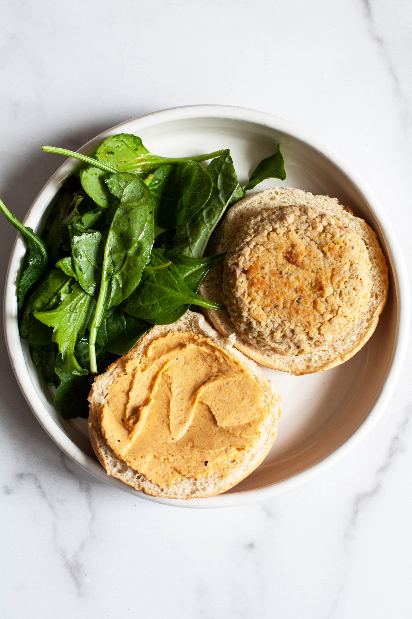 Artichoke, White Bean & Quinoa Burgers | The Full Helping