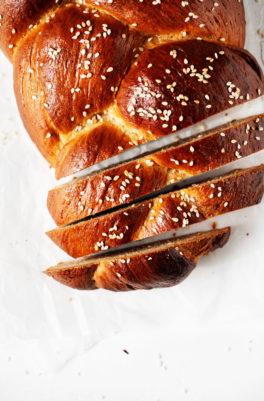 Vegan Tsoureki (Greek Easter Bread)
