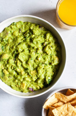 Orange Juice Avocado Dip