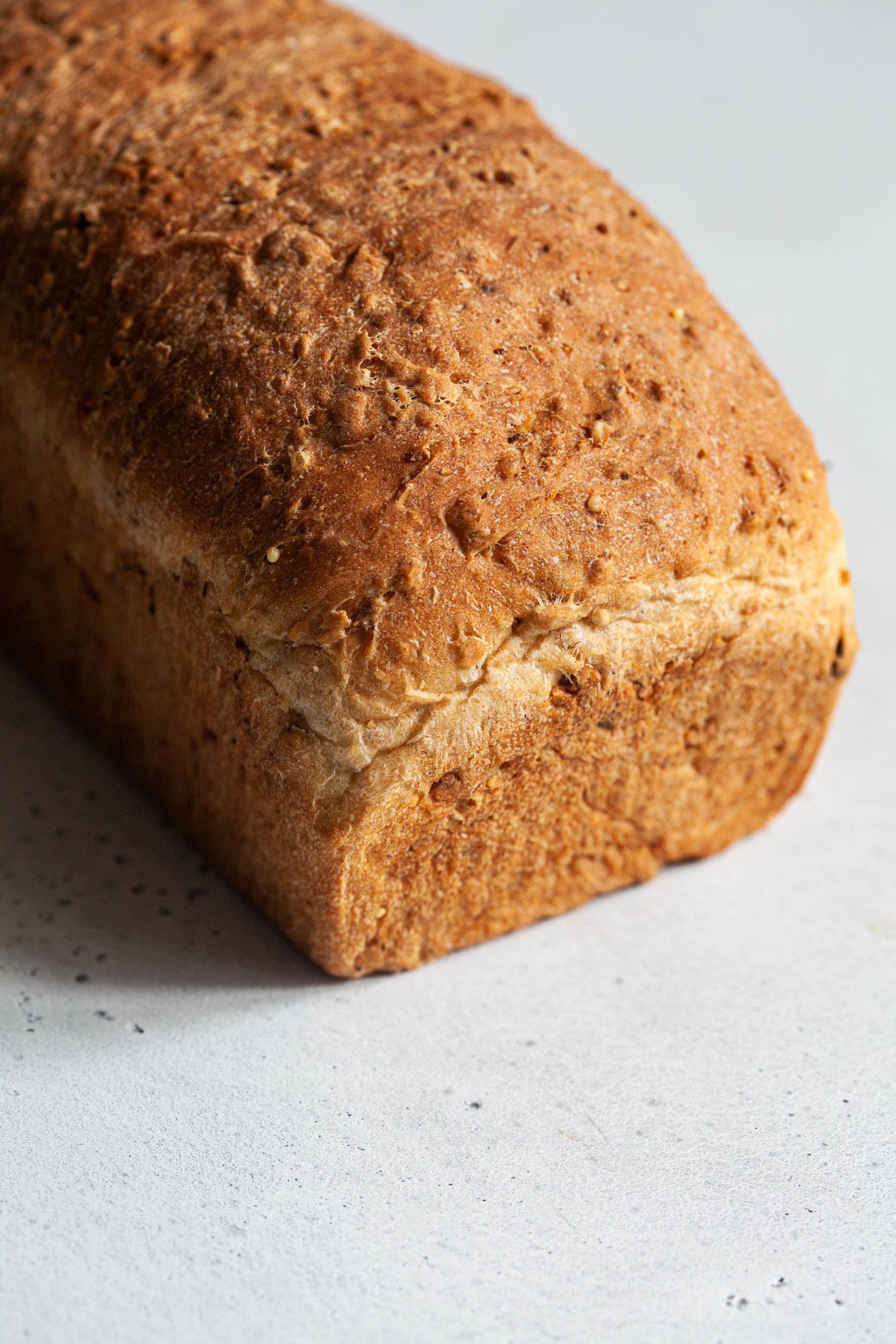 Easy Vegan Multigrain Bread | The Full Helping