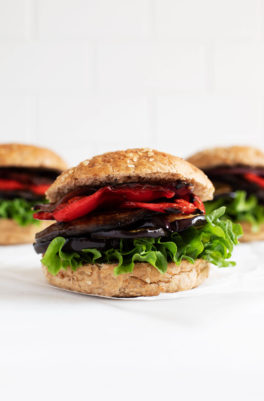 Balsamic Grilled Vegetable Burgers