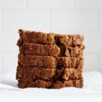 Pan clásico de calabacín vegano |  La ayuda completa