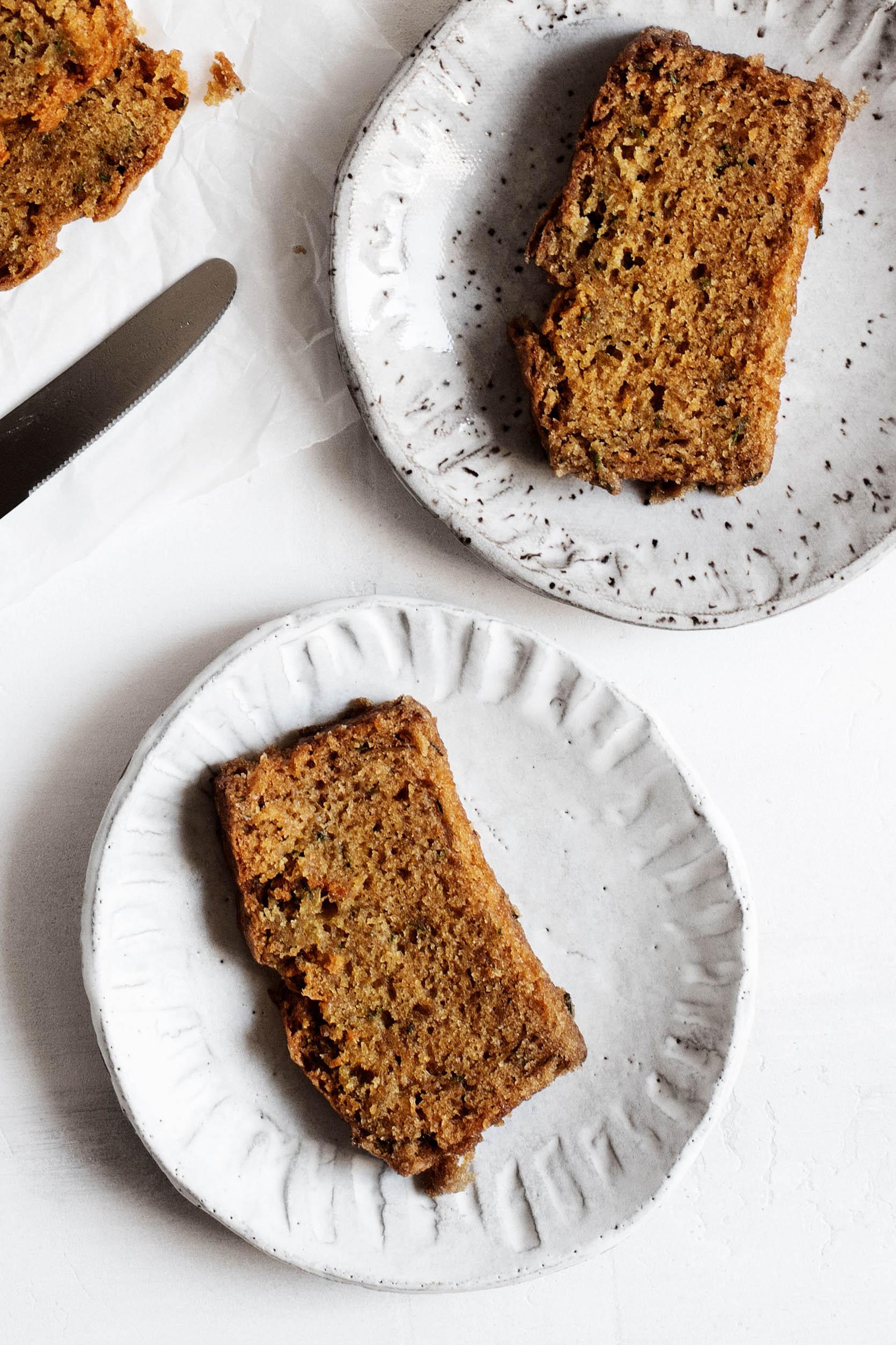 Classic Vegan Zucchini Bread | The Full Helping