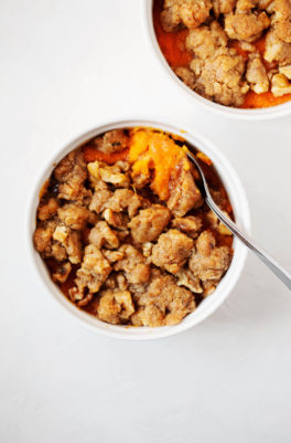 Mini Sweet Potato Casseroles